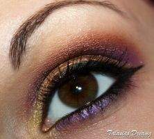 Christmas make up by Talasia85
