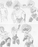 Elastigirl TG concep 1 and 2 by dastanprince