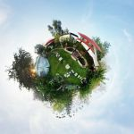 Our 'lil Garden Planet 2 by Vevelent