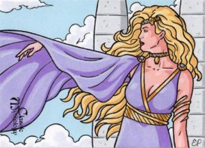 Aphrodite Sketch Card - Classic Mythology