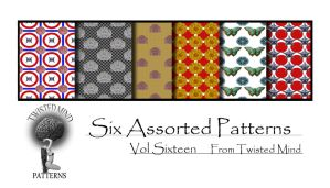 TAM Pattern Set 16 by Textures-and-More