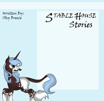 Stable House Stories (Journal Skin 2) by SkyBreeze-MasterMC