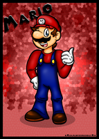 Just-a Mario by HamSamwich