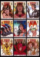 Golden Age Heroes Sketchcards by Guy-Bigbelly