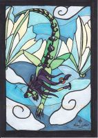 Mihari Stained Glass Style by mialythila