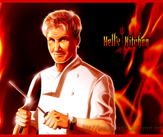 Hell's Kitchen - Chef Ramsay by BreakingSasuke