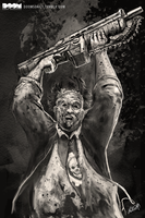 Leatherface x Gears of War by DoomCMYK