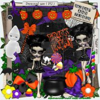 Spooky Kit by ZaZaScrapAndTubes