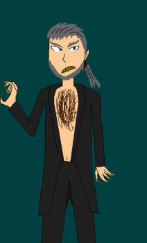 Fenrir Greyback design A Very Potter Threequel by notacukoofangirl121