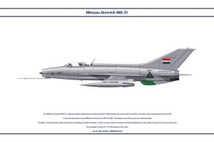 MiG-21 Iraq 1 by WS-Clave