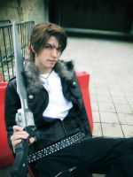 Squall Final Fantasy VIII #4 by DarkyLeon