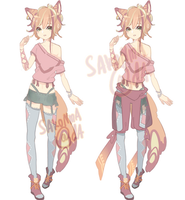 (CLOSED) Auction: Multi-layer Adopt by sakonma-adopts