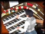 The organist goes wild by VirtualEuthanasia