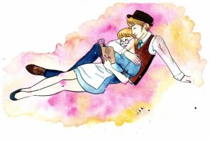 reading is for nerds by Labyrinthe