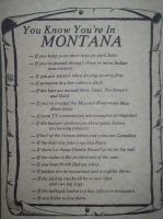 You Know You're in Montana... by uglygosling