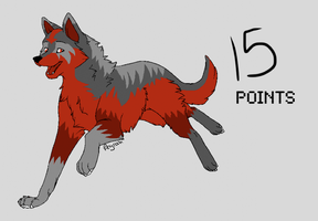 Wolf Adoptable 1 by Animal-Point-Adopts