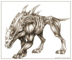 Flip-Top Hellhound by nachtwulf
