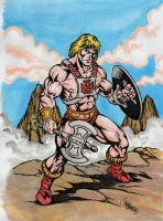 He-man, the barbarian by danbrenus