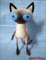 Siamese Cat by BibelotForest