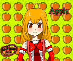 Apple fanart by miracm4