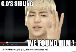 KPOP MACRO - G.O's Long Lost Brother by Mianhaeyo