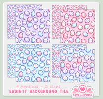 Pixel - Eggin'It Tiles by firstfear
