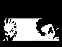 Boondocks Wallpaper - B and W by wei-long