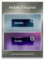 Mobile 7 Inspired by easydisplayname
