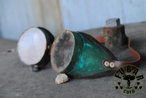 Verdigris Goggles by Zaxnot