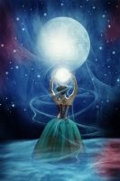 Goddes from the Moon by greenfeed