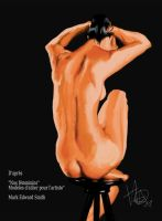 Nude painting by Horlod