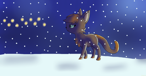 Guide me through the snow by Nazoinu