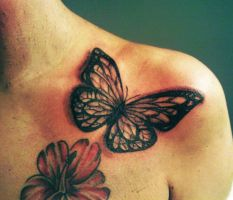 Butterfly Tattoo by ngoc50