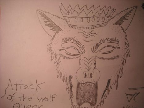 attack of the wolf queen by wapacalypse