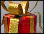 red gift box decoration II by Foozma73