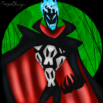 FusionFall Demongo Original by FlargahBlargh