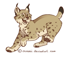 Happy Lynx by Avanii