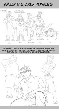 FMA: Yo' Dawg and Amestris Axis Powers by HighwindEngineer03