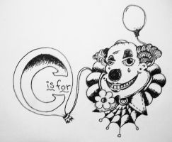 C is for Clown by ramworship