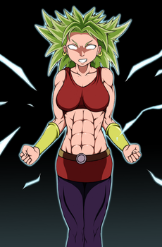 Female Legendary Super Saiyan is now canon by DeadSlot4