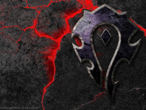 Wallpaper--For the horde 2 by 0x0--LQ