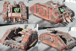 Ork Trukk Conversion (from Rhino APC) by Waaaghzag