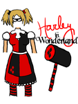 Harley in Wonderland Design by OhSweetSerenity71892