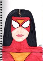 Spider woman by Anthony-Callaghan