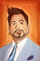 Robert Downey Jr by keizler