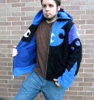 Reversible Nightmare Moon /  Princess Luna Hoodie by Lisa-Lou-Who