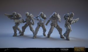 Warzone Resurrection Light Infantry by kazube