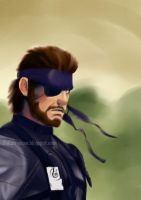 Big Boss - Metal Gear Solid 3 by Dokan-Kuwabara