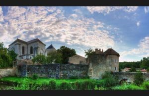 Nouaille Abbey by johnpaul51
