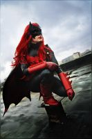 Batwoman: Up On The Roof by m-snark